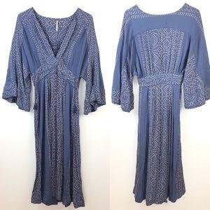 Free People Modern Kimono Dress Size 6